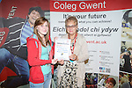 Coleg Gwent Awards 2013<br /> Ebbw Vale Campus<br /> 26.06.13<br /> &copy;Steve Pope-FOTOWALES