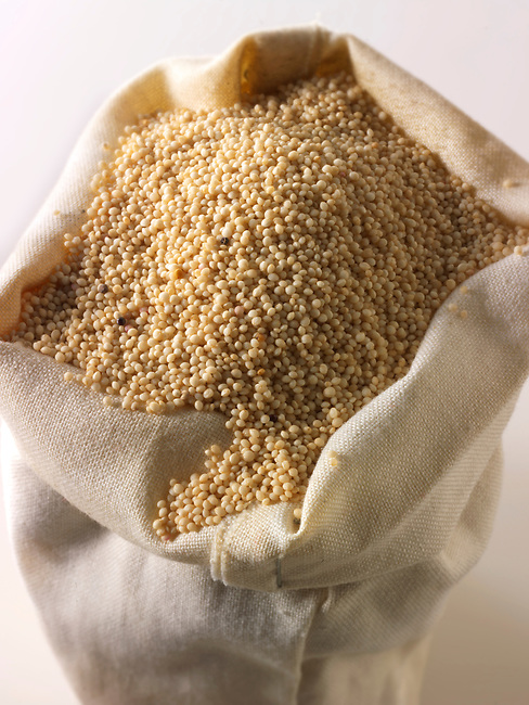 Un-cooked Amaranth supergrain - stock photos