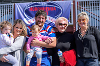 Ryan Shelford with his family after the 2018 Heartland Championship Lochore Cup rugby semifinal between Horowhenua Kapiti and Mid-Canterbury at Levin Domain in Levin, New Zealand on Saturday, 20 October 2018. Photo: Dave Lintott / lintottphoto.co.nz
