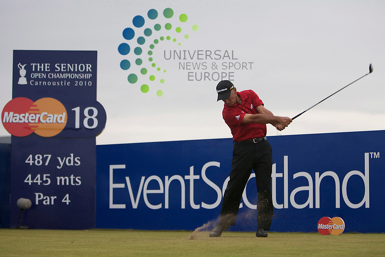 The  Senior Open Golf Championship 2010 at Carnoustie. (3rd Round).25-07-10.. American Corey Pavin  , in today's  3rd round of The Senior Open Golf Championship...At Carnoustie, Scotland ...Picture, Mark Davison/Universal News and Sport.