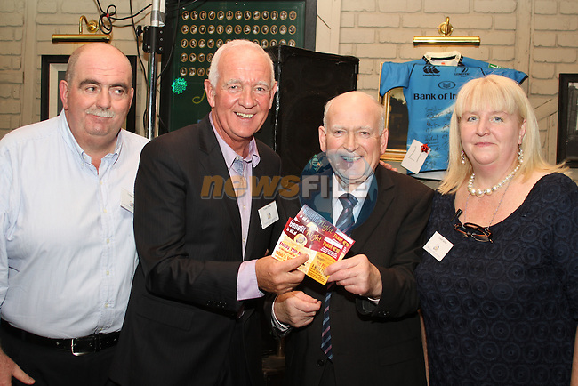 Eamonn Duffy, Paul Egan, Paul Murphy and Frances Dunne at the Homeless Aid Fundraiser in the Black Bull...(Photo credit should read Jenny Matthews/www.newsfile.ie)....This Picture has been sent you under the conditions enclosed by:.Newsfile Ltd..The Studio,.Millmount Abbey,.Drogheda,.Co Meath..Ireland..Tel: +353(0)41-9871240.Fax: +353(0)41-9871260.GSM: +353(0)86-2500958.email: pictures@newsfile.ie.www.newsfile.ie.