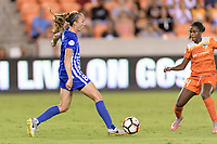 Houston, TX - Saturday July 22, 2017: Julie King during a regular season National Women's Soccer League (NWSL) match between the Houston Dash and the Boston Breakers at BBVA Compass Stadium.