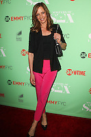 "NORTH HOLLYWOOD, CA, USA - APRIL 29: Allison Janney at Showtime's ""Masters Of Sex"" Special Screening And Panel Discussion held at the Leonard H. Goldenson Theatre on April 29, 2014 in North Hollywood, California, United States. (Photo by Celebrity Monitor)"