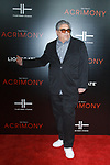 "Actor Vincent Pastore arrives on the red-carpet for the Tyler Perry""s ACRIMONY movie premiere at the School of Visual Arts Theatre in New York City, on March 27, 2018."