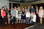 Sarah Byrne celebrating her 21st birthday in the Westcourt hotel with all her family. Photo:Colin Bell/pressphotos.ie