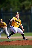 Cooper Benson during the WWBA World Championship at the Roger Dean Complex on October 21, 2018 in Jupiter, Florida.  Cooper Benson is a left handed pitcher from San Luis Obispo, California who attends San Luis Obispo High School and is committed to Arizona State.  (Mike Janes/Four Seam Images)