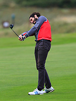 Mark Morrissey (Co. Sligo) on the 14th fairway during the Connacht Final of the AIG Barton Shield at Galway Bay Golf Club, Galway, Co Galway. 11/08/2017<br /> <br /> Picture: Golffile | Thos Caffrey<br /> <br /> <br /> All photo usage must carry mandatory copyright credit     (&copy; Golffile | Thos Caffrey)