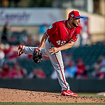 24 February 2019: Washington Nationals pitcher Vidal Nuno on the mound during a Spring Training game against the St. Louis Cardinals at Roger Dean Stadium in Jupiter, Florida. The Nationals defeated the Cardinals 12-2 in Grapefruit League play. Mandatory Credit: Ed Wolfstein Photo *** RAW (NEF) Image File Available ***