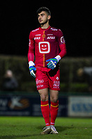 20191125 - WOLVERTEM: Mechelen's goal keeper Sofiane Bouzian is in action during the Belgian Elite U21 league football match between RSC Anderlecht U21 and KV Mechelen U21 on Monday 25th of November 2019 at F. Lathouwersstadion, Wolvertem Belgium. PHOTO: SEVIL OKTEM|SPORTPIX.BE