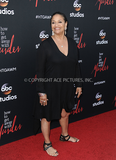 WWW.ACEPIXS.COM<br /> <br /> May 28 2015, New York City<br /> <br /> Debbie Allen arriving at the 'How To Get Away With Murder' ATAS event at Sunset Gower Studios on May 28, 2015 in Hollywood, California<br /> <br /> By Line: Peter West/ACE Pictures<br /> <br /> <br /> ACE Pictures, Inc.<br /> tel: 646 769 0430<br /> Email: info@acepixs.com<br /> www.acepixs.com