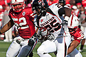17 October 2009: Texas Tech running back Baron Batch rushs for 9 yards against Nebraska in second quarter at Memorial Stadium, Lincoln, Nebraska. Texas Tech defeats Nebraska 31 to 10.