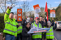 Arcadia DHL Strike Solihull (March 2017)