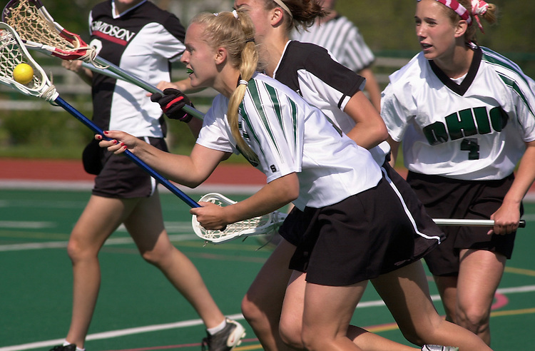 15342Ohio Lacrosse VS. Davidson 4/26/02
