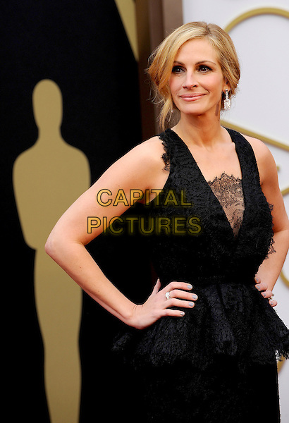 HOLLYWOOD, CA - MARCH 2: Julia Roberts arriving to the 2014 Oscars at the Hollywood and Highland Center in Hollywood, California. March 2, 2014. <br /> CAP/MPI/COR<br /> &copy;Corredor99/ MediaPunch/Capital Pictures