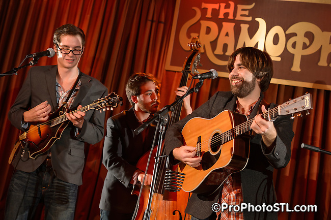 Kansas Street Ramblers in concert at The Gramophone in St. Louis, MO on Jan 11, 2013.