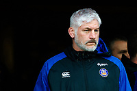 Bath Director of Rugby Todd Blackadder looks on prior to the match. Heineken Champions Cup match, between Stade Toulousain and Bath Rugby on January 20, 2019 at the Stade Ernest Wallon in Toulouse, France. Photo by: Patrick Khachfe / Onside Images