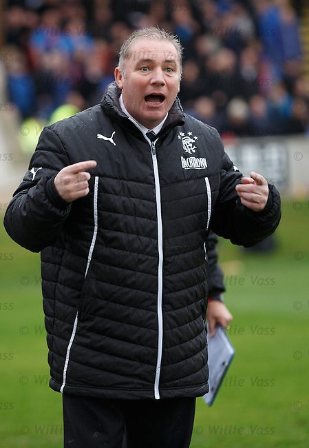 Ally McCoist going through the emotions