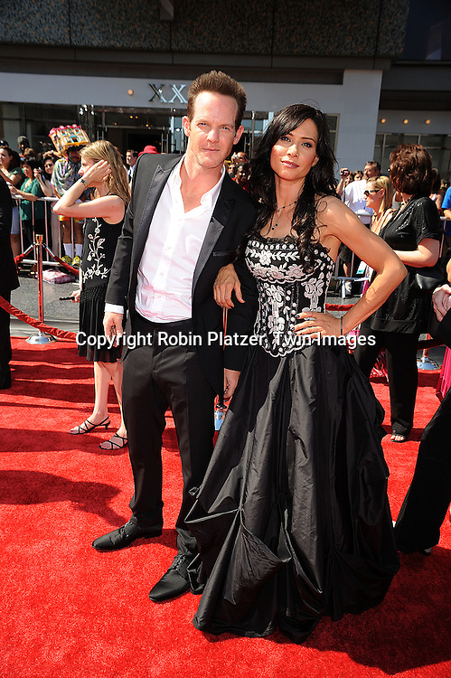 Sarah Brown and guest..at The 35th Annual Daytime Entertainment Emmy Awards at The Kodak Theatre on June 20, 2008 in Hollywood California.....Robin Platzer, Twin Images