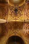 Iglesia del Salvador. Interior. Caravaca de la Cruz. Murcia.