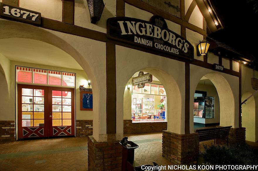 Ingeborgs Danish Chocolate Shop in Solvang, CA.