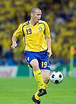 Daniel Andersson at Euro 2008 Greece-Sweden 06102008, Salzburg, Austria