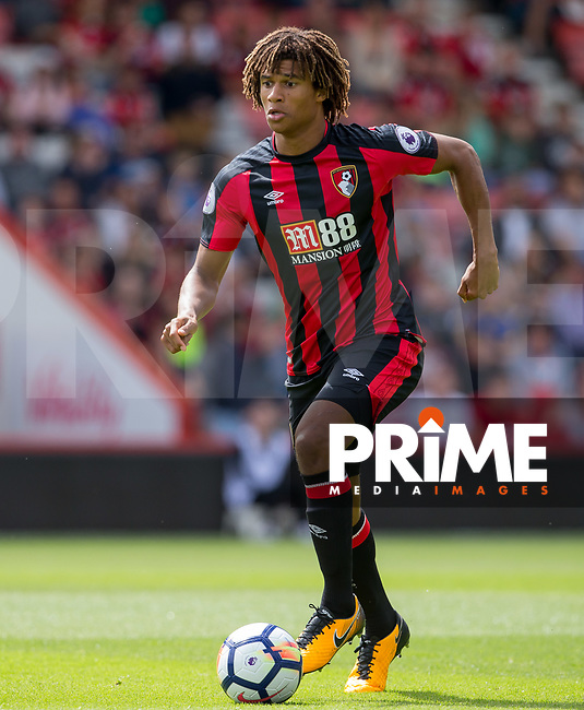 Nathan Ake of AFC Bournemouth during the Friendly match between Bournemouth and Valencia  at the Goldsands Stadium, Bournemouth, England on 30 July 2017. Photo by Andy Rowland.