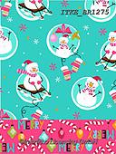 Isabella, GIFT WRAPS, GESCHENKPAPIER, PAPEL DE REGALO, Christmas Santa, Snowman, Weihnachtsmänner, Schneemänner, Papá Noel, muñecos de nieve, paintings+++++,ITKEBR1275,#gp#,#x#