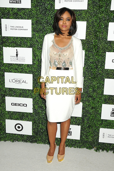 27 February 2014 - Beverly Hills, California - Sharon Leal. 7th Annual ESSENCE &quot;Black Women in Hollywood&quot; Luncheon held at the Beverly Hills Hotel. <br /> CAP/ADM/BP<br /> &copy;Byron Purvis/AdMedia/Capital Pictures