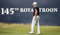 Graeme McDowell (NIR) completes Round One of the 145th Open Championship, played at Royal Troon Golf Club, Troon, Scotland. 14/07/2016. Picture: David Lloyd | Golffile.<br /> <br /> All photos usage must carry mandatory copyright credit (&copy; Golffile | David Lloyd)