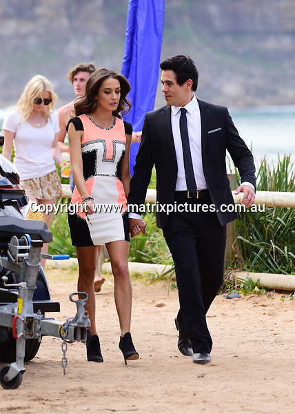 23 AUGUST 2016 SYDNEY AUSTRALIA<br /> WWW.MATRIXPICTURES.COM.AU<br /> <br /> Non EXCLUSIVE PICTURES<br /> Home &amp; Away filming at Palm Beach with  James Stewart, Isabella Giovinazzo and Ray Meagher.<br /> <br /> *No internet without clearance*.<br /> <br /> MUST CALL PRIOR TO USE <br /> <br /> +61 2 9211-1088. <br /> <br /> Matrix Media Group.Note: All editorial images subject to the following: For editorial use only. Additional clearance required for commercial, wireless, internet or promotional use.Images may not be altered or modified. Matrix Media Group makes no representations or warranties regarding names, trademarks or logos appearing in the images.