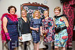 l-r  Mary Bonner, Michelle Flynn, Aine O'Mahony, Mairead Fox and Heidi Giles enjoying the Tralee Rowing Club Viva Las Vegas Casino Night fundraiser at Benners Hotel