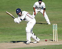 Grant Stewart bats for Kent during the County Championship Division 2 game between Kent and Leicestershire (Day 2) at the St Lawrence ground, Canterbury, on Mon July 23, 2018