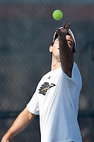 SAN ANTONIO, TX - FEBRUARY 25, 2018: The University of Texas at San Antonio Roadrunners defeat the University of the Incarnate Word Cardinals 5-2 at the UTSA Tennis Center. (Photo by Jeff Huehn)