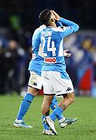 6th January 2020; Stadio San Paolo, Naples, Campania, Italy; Serie A Football, Napoli versus Inter Milan; Lorenzo Insigne of Napoli sees his shot go wide