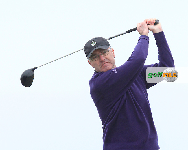 Jimmy Feeney (England) during the 36 hole stroke play qualifying on April 3rd 2015 for the 2015 West of Ireland Open Championship, Co. Sligo, Golf Club, Rosses Point, Sligo, Ireland.<br /> Picture: Thos Caffrey / Golffile
