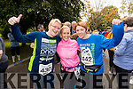 Mary Twomey, Marlyn O'Shea and Siobhan Dowling, Listowel, pictured after completing the 24 hour run held in Tralee Town Park on Sunday last.