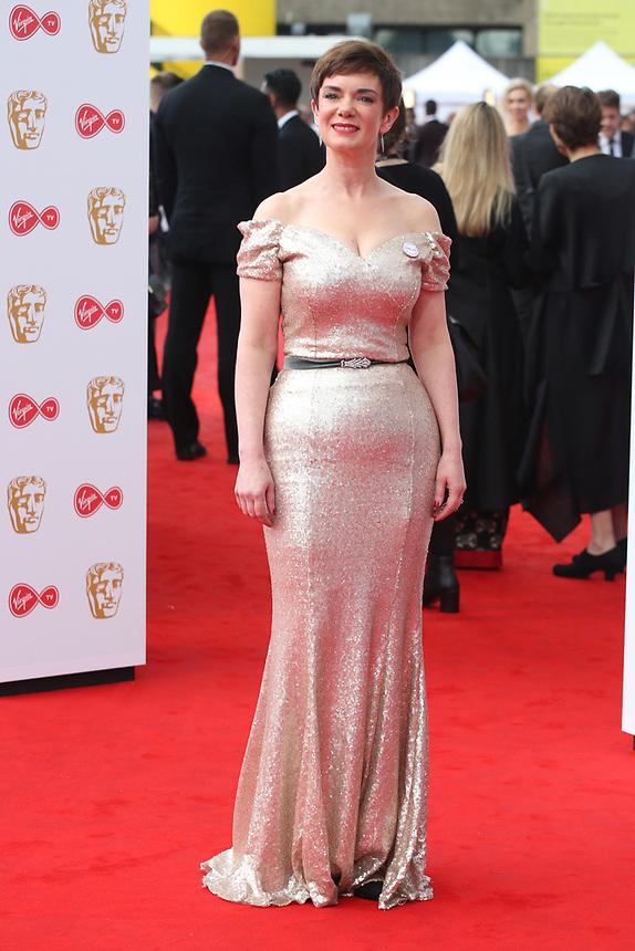 Victoria Hamilton<br />  arriving at the Bafta Tv awards 2017. Royal Festival Hall,London  <br /> ©Ash Knotek