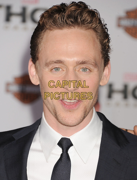 HOLLYWOOD, CA - NOVEMBER 04: Tom Hiddleston at the Los Angeles Premiere 'Thor: The Dark World' at the El Capitan Theatre on November 4, 2013 in Hollywood, California, USA.<br /> CAP/ROT/TM<br /> &copy;Tony Michaels/Roth Stock/Capital Pictures