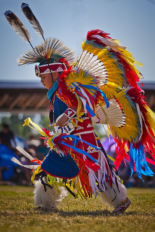 Powwow Dancers-Children