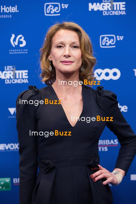 Astrid Whettnall :  7&egrave;me C&eacute;r&eacute;monie des Magritte du Cin&eacute;ma, qui r&eacute;compense le septi&egrave;me art belge, au Square, &agrave; Bruxelles.<br /> 7th edition of the Magritte du Cinema awards ceremony.<br /> Belgium, Brussels, 4 February 2017
