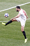 Sevilla FC's Adil Rami during La Liga match. March 19,2017. (ALTERPHOTOS/Acero)