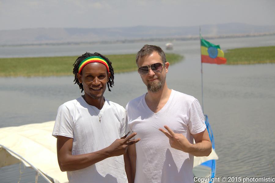 """my Lake Awassa guide """"Fish"""""""
