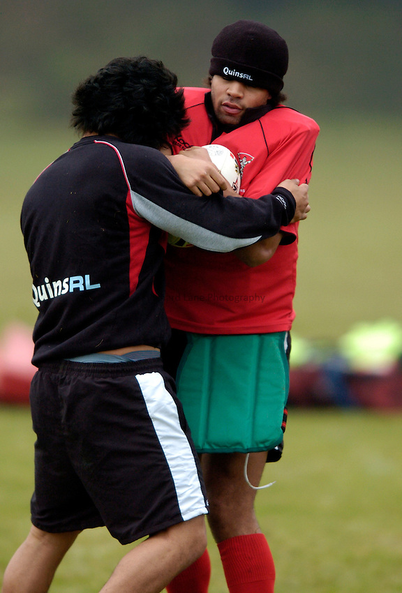 Photo: Richard Lane..Harlequins RL Training. 20/12/2005..Rikki Sherriffe.