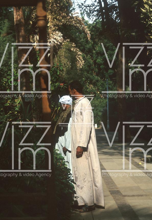 ASWAN- EGIPTO- 15-04-2007. Habitantes egipcios. Egyptian inhabitants. (Photo: VizzorImage).....