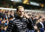 Dortmund's Thomas Tuchel looks on during the Europa League match at White Hart Lane Stadium.  Photo credit should read: David Klein/Sportimage