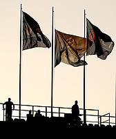 Bandiere della Champions<br /> Napoli 16-08-2017 Stadio San Paolo <br /> Napoli - Nice <br /> Uefa Champions League 2017/2018 Play Off <br /> Foto Cesare Purini Insidefoto