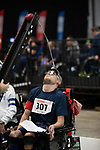 Patrick Wilson (GBR)<br /> BISFed 2018 World Boccia Championships <br /> Exhibition Centre Liverpool<br /> 17.08.18<br /> ©Steve Pope<br /> Sportingwales