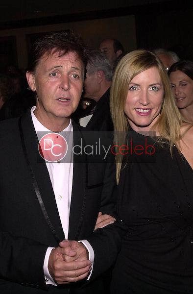Paul McCartney and wife Heather Mills