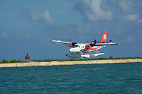 8Q-TMP, DHC-6 Twin-Otter, landing North Right in Male', Republic of Maldives