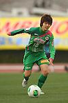 Shiori Kinoshita (Beleza), .MARCH 23, 2013 - Football /Soccer : .Plenus Nadeshiko League 2013 .between NTV Beleza 2-0 FC Kibikokusaidaigaku Charme .at Ajinomoto Stadium West Field, Tokyo, Japan. .(Photo by YUTAKA/AFLO SPORT) [1040]